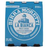 Birra con malto di frumento italiano non filtrata.