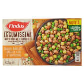 Findus, Legumissimi Mix di Legumi al Naturale fagioli borlotti piselli ceci e lenticchie surgelati 425 g