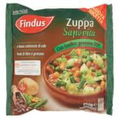 Findus, Zuppa Saporita con Basilico Genovese DOP surgelata 500 g