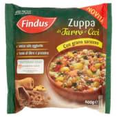 Findus, zuppa di farro e ceci con grano saraceno surgelata 500 g