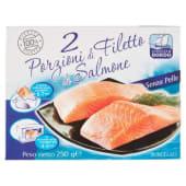 Cuoco di Bordo, 2 porzioni di filetto di salmone surgelati 250 g