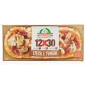 Italpizza, 12x30 cm speck e funghi pizza surgelata 235 g