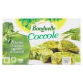 Bonduelle, Le Coccole sformatini di spinaci fagiolini e broccoli surgelati conf. 8x37,5 g