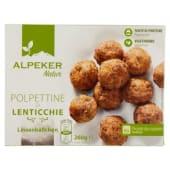 Alpeker Natur, polpettine di lenticchie surgelati 260 g