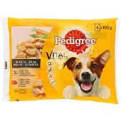 Comida húmeda para perros con buey, pollo y verduras