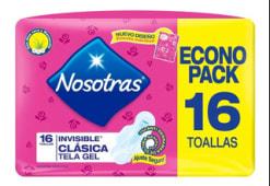 Toallitas Nosotras Natural X16