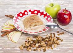 Штрудель з яблуками