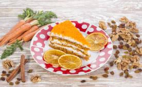 Торт Морквяний