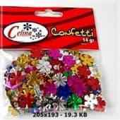 Confeti 14Gr Flores 13X13Mm Ref.050-0086