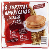 Tortitas americanas refrigeradas industriales