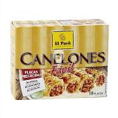 Canelones precocidos 18 placas caja