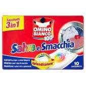Omino Bianco Sacchetti Salva e Smacchia con Azione Splendicolore Prodotto coadiuvante del lavaggio