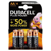 Plus Power AA LR6 / MN1500 1.5V Alkaline 4 pz