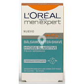 Loreal Men expert hydra sensitive bálsamo after shave