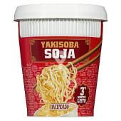 Fideos orientales de soja deshidratados Yakisoba