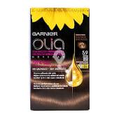 Tinte color bronce oscuro nº 5.9 coloración permanente con aceites florales naturales
