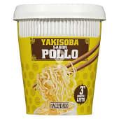Fideos orientales pollo deshidratados Yakisoba