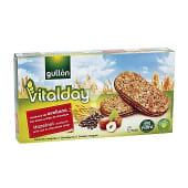 Vitalday sándwich de avellana con avena y chips de chocolate