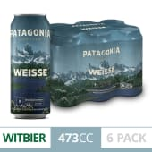 Patagonia Weisse Lata 473 Cc (Six Pack)