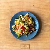 Tartare di verdure con avocado