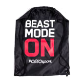 Polleo Sport Gym Sack Beast Mode On