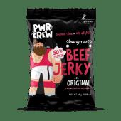 PWR CREW Strongman's Beef Jerky 25g