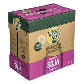 Bebida soja ligera 100% vegetal