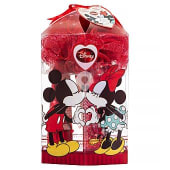 Lote infantil mickey & minnie fragancia vaporizador 100 ml + locion corporal 100 ml + gel ducha 100 ml + esponja