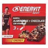 Barrita energetica almendra y chocolate para deportistas
