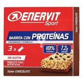 Barrita proteinas chocolate para deportistas