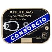 Anchoa filete aceite oliva (anchoas del Cantábrico)