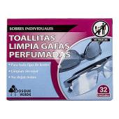 Toallitas limpiagafas perfumadas (sobre monodosis)