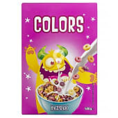 Cereal aros colors sabor fruta