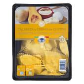 Medialunas frescas calabaza y crema de quesos