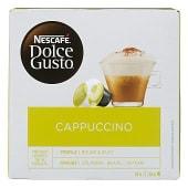 Café cápsula cappuccino (compatible cafetera Dolce Gusto)