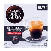 Café en monodosis descafeinadao espresso