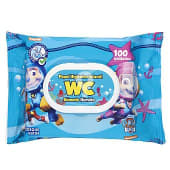 Papel higienico humedo infantil (desechable por el wc)