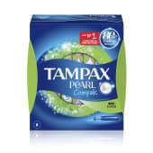 Tampax Compak Pearl Super tampones
