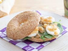 Bagel Spinach & Goat