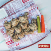 Green Curry Wings - poco picantes