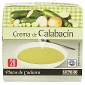 Crema líquida de calabacín
