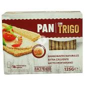 Pan tostado con trigo