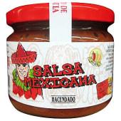 Salsa mexicana fresca con tomate natural