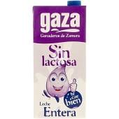 Leche entera sin lactosa