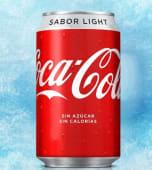 Coca-Cola Sabor Light lata 330 ml.