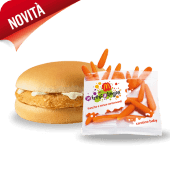 Happy Meal Chickenburger e Carotine