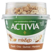 Danone, Activia Mix&go muesli chia quinoa mandorle 170 g