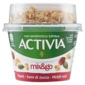 Danone, Activia Mix&go muesli semi di Zucca mirtilli rossi 170 g