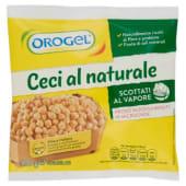 Orogel, ceci al naturale scottati al vapore surgelati 300 g