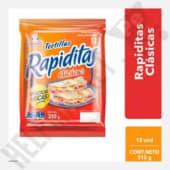 Rapiditas Bimbo Tortillas Clásicas Bolsa X 12Und